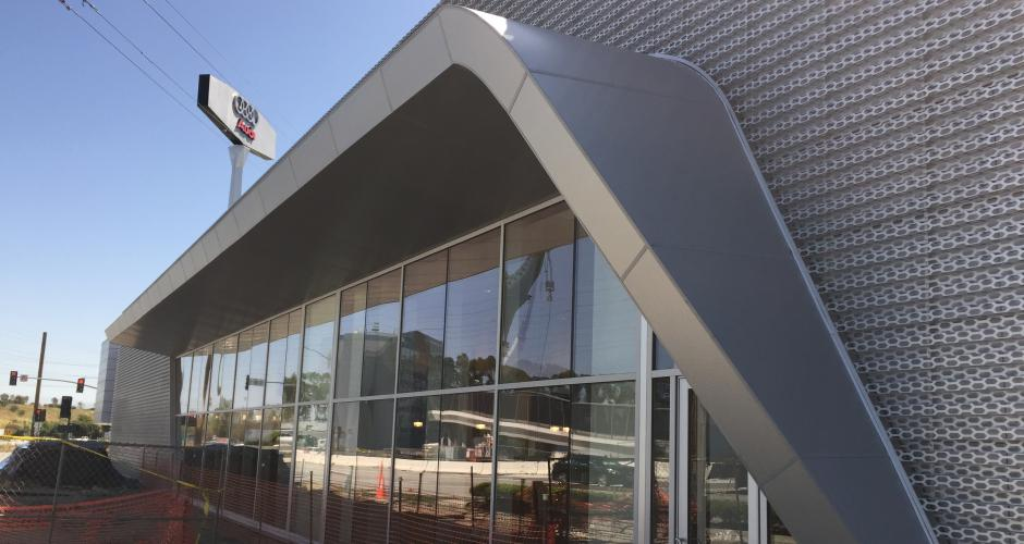 Audi Burlingame Architectural Building Products